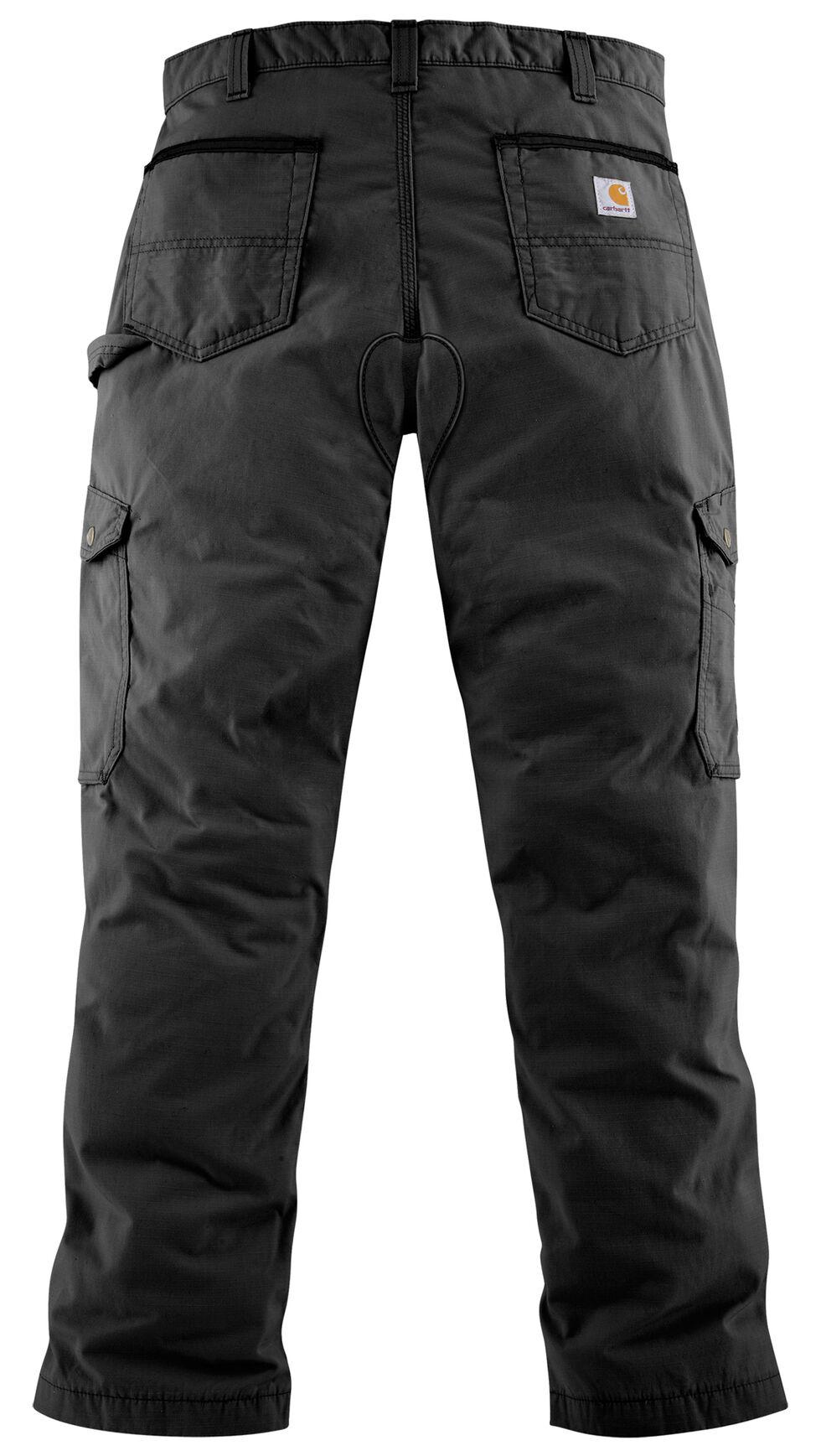 Carhartt Ripstop Cargo Work Pants, Black, hi-res