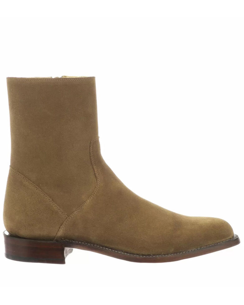 Lucchese Men's Jonah Western Boots - Round Toe, Tan, hi-res