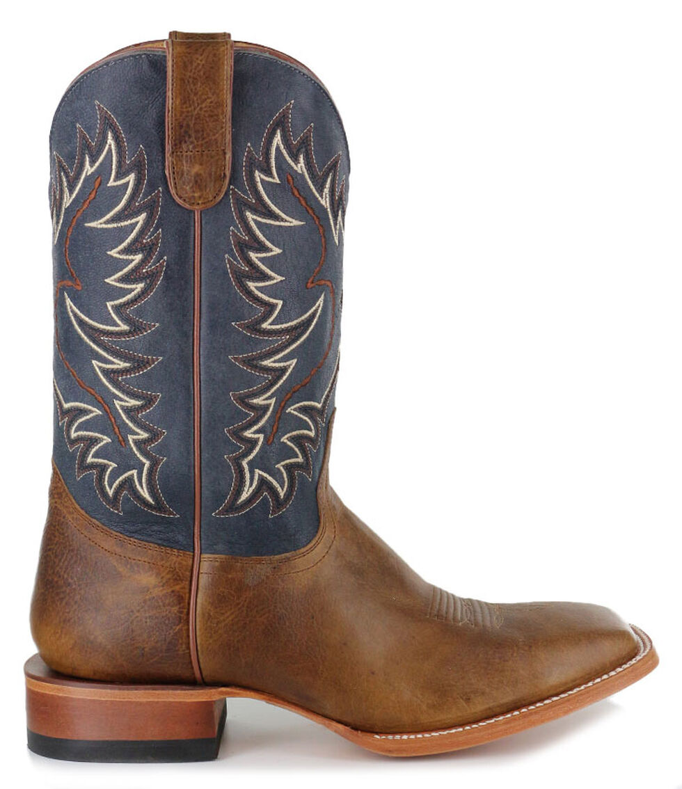 Cody James Men's Montana Western Boots - Square Toe, Brown, hi-res