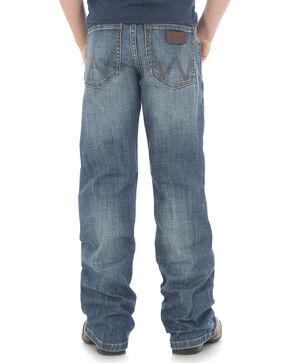Wrangler Boys' Indigo (8-18) Retro Relaxed Fit Jeans - Husky, Indigo, hi-res