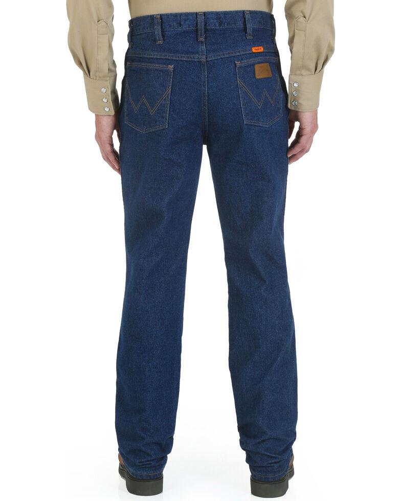Wrangler Men's Indigo FR Slim Fit Jeans - Straight Leg , Indigo, hi-res