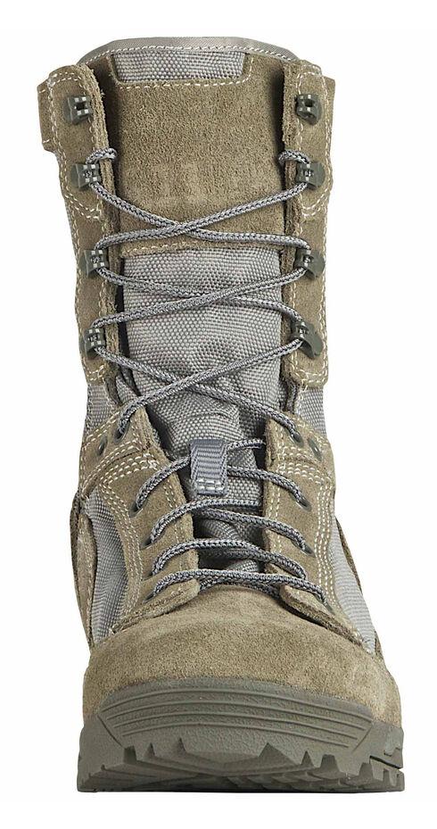 5.11 Tactical Men's Skyweight Side-Zip Suede Boots, Sage, hi-res
