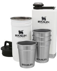 Stanley White Adventure Shot Glass & Flask Set, White, hi-res