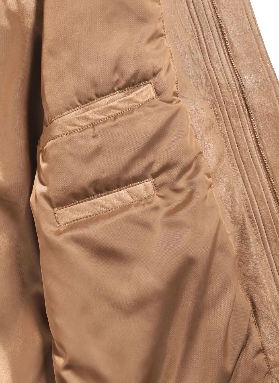 Scully Premium Lambskin Jacket - Tall, Cognac, hi-res