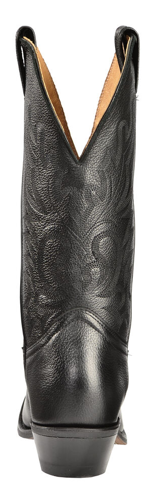 Boulet Men's Challenger Cowboy Boots - Medium Toe, Black, hi-res
