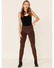 Levi's Women's 721 Coffee Luxe Corduroy Skinny Jeans, Brown, hi-res