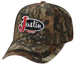 Justin Men's Camo Cap, Camouflage, hi-res