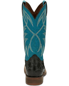 Nocona Men's Go Round Black Western Boots - Square Toe, Black, hi-res
