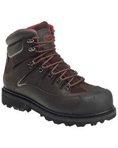 """Avenger Men's 6"""" Rugged Work Boots - Composite Toe, Brown, hi-res"""
