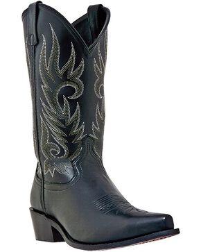 Laredo Basic Cowboy Boots - Snip Toe, Black, hi-res