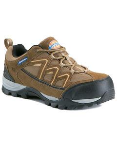 Dickies Men's Solo Steel Toe Shoes, Brown, hi-res
