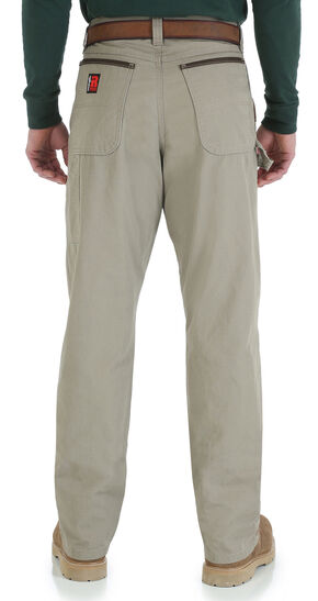 Wrangler Men's Riggs Carpenter Work Jeans, Dark Khaki, hi-res