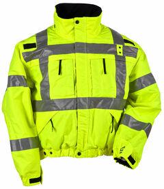 5.11 Tactical Reversible High-Visibility Jacket, Yellow, hi-res