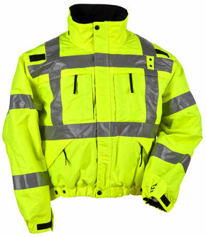 5.11 Tactical Reversible High-Visibility Jacket, Yellow, hi-res
