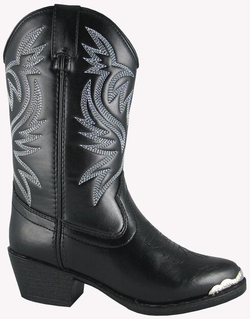 Smoky Mountain Toddler Boys' Mesquite Western Boots - Round Toe, Black, hi-res