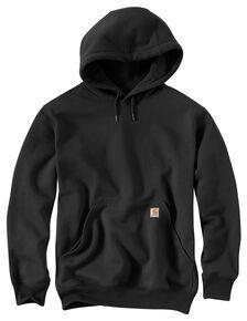 Carhartt Rain Defender Paxton Heavyweight Hooded Sweatshirt - Big & Tall, Black, hi-res