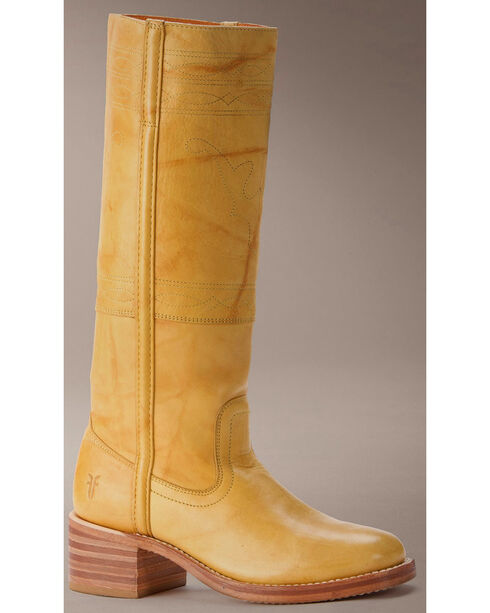 Frye Women's Campus Stitching Horse Boots, Banana, hi-res