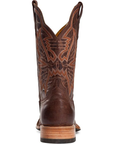 Cinch Classic Mad Dog Cowgirl Boots - Square Toe, Chocolate, hi-res