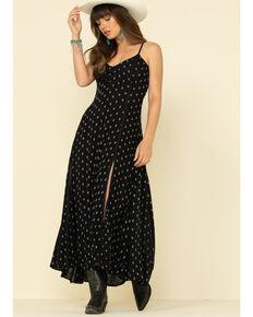 Idyllwind Women's Bluegrass Maxi Dress, Black, hi-res