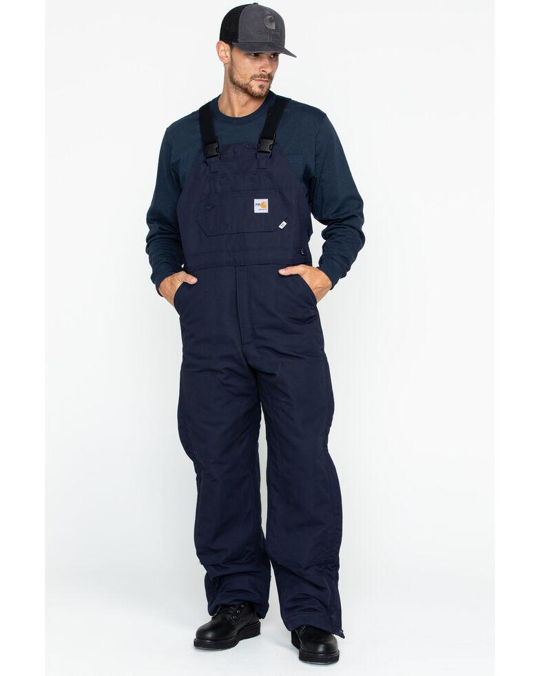 aa9c3f75ea7d Carhartt Men s Flame-Resistant Duck Quilt-Lined Bib Overalls