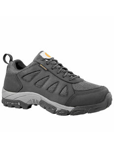 Carhartt Men's Lightweight Low Hiker Work Boots - Carbon Toe, Black, hi-res