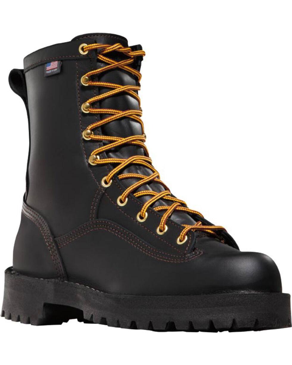Danner Unisex Rain Forest GTX® Work Boots, Black, hi-res