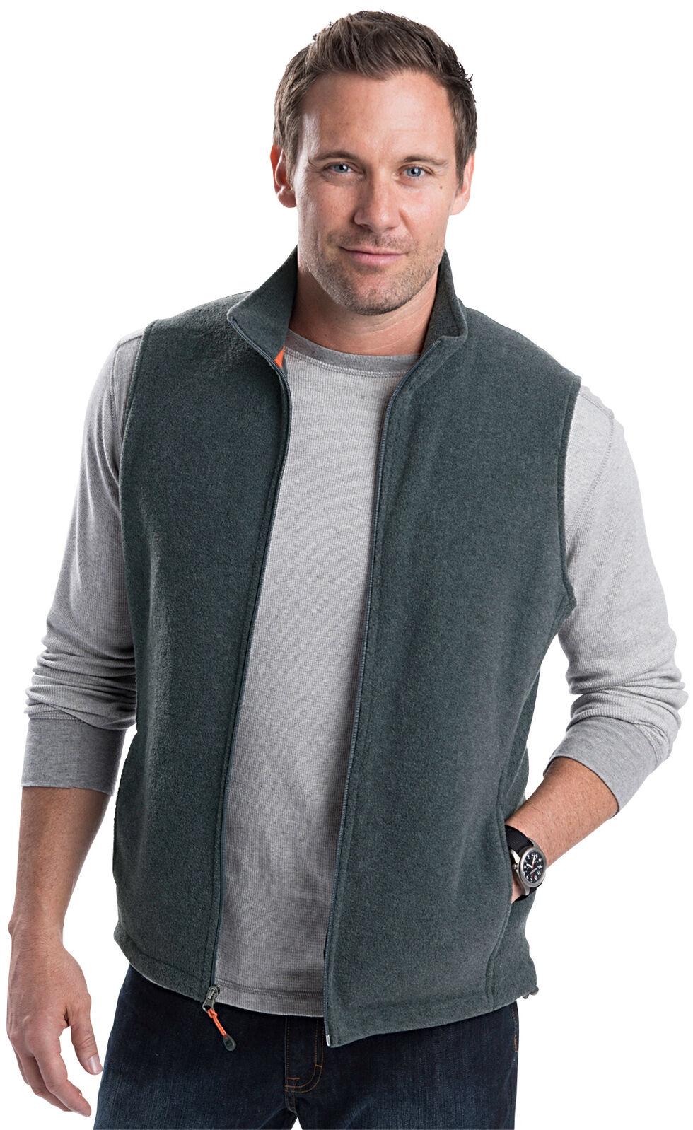 Woolrich Men's Andes II Fleece Vest, Hthr Grey, hi-res