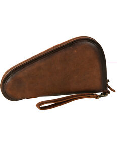 STS Ranchwear Foreman Pistol Case - Medium, Brown, hi-res