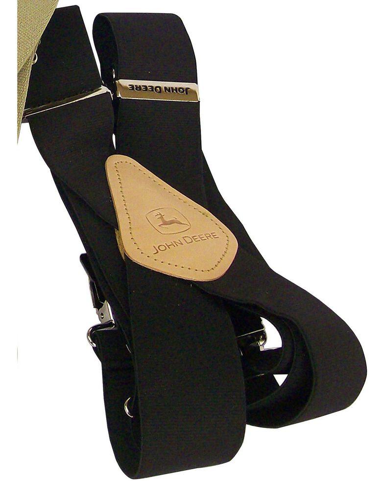John Deere Leather Patch Suspenders, , hi-res