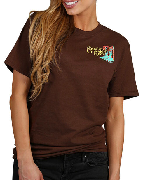 Cherished Girl Women's Oh No Graphic Tee, Brown, hi-res