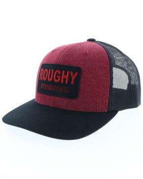HOOey Men's Burgundy Roughy Original Trucker Cap, Burgundy, hi-res