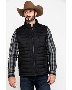 Moonshine Spirit Men's Quilted Puffer Vest , Black, hi-res