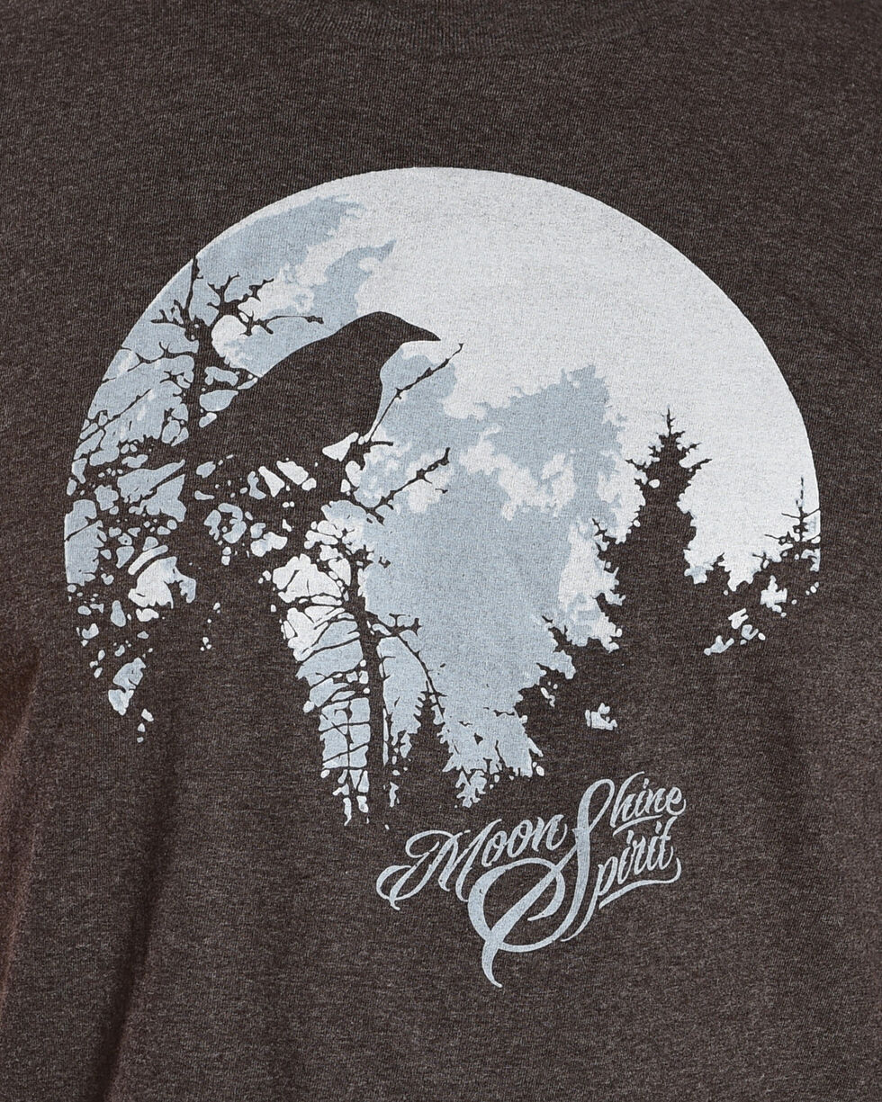 Moonshine Spirit Men's Moon Crow T-Shirt, , hi-res