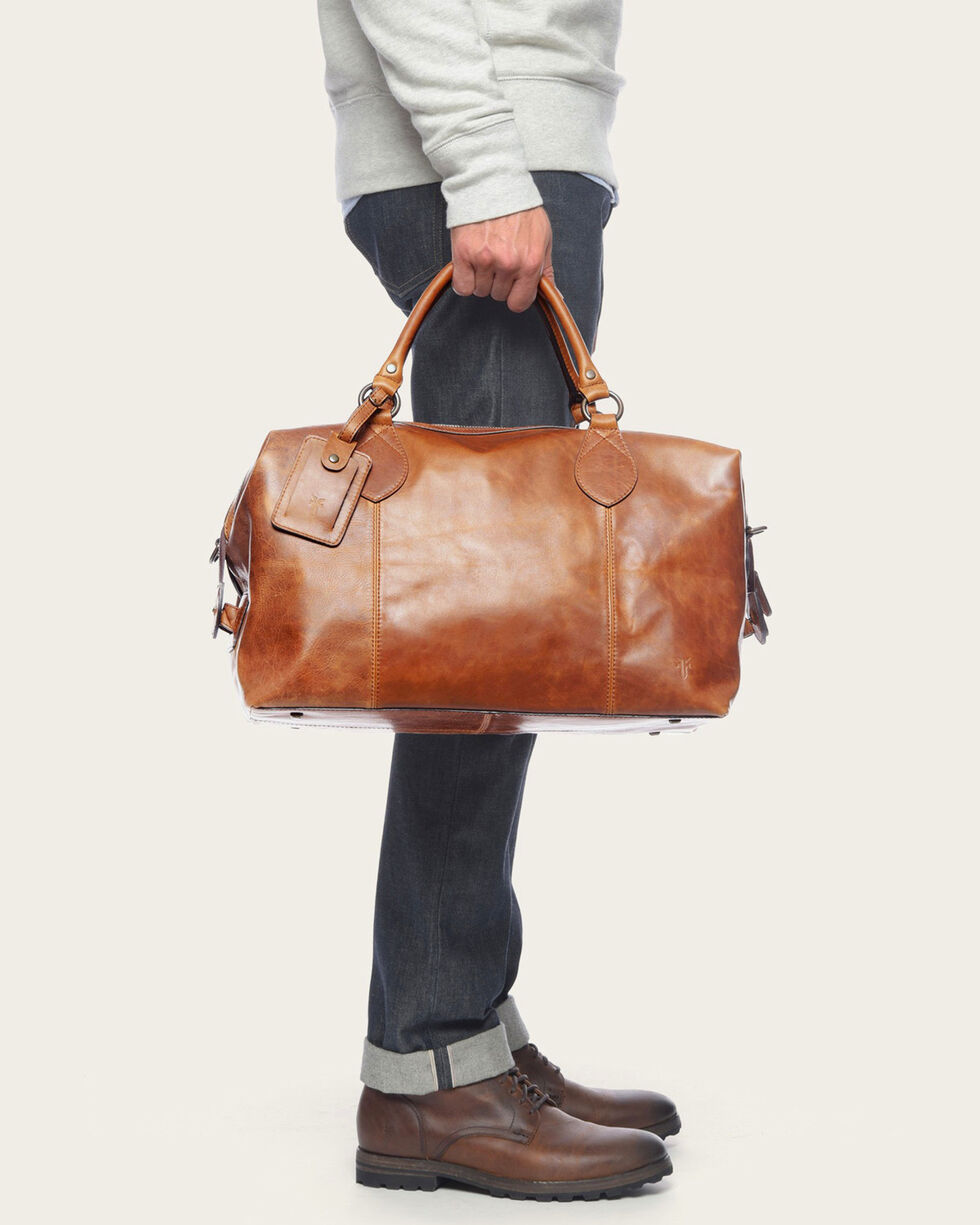 Frye Men's Logan Leather Overnight Bag , , hi-res