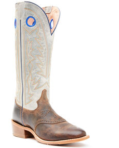 Tony Lama Men's Henley Grey Top Western Boots - Round Toe, Grey, hi-res