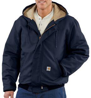 Carhartt Flame Resistant Midweight Active Jacket - Big & Tall, Navy, hi-res