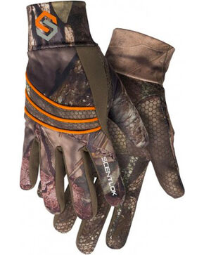 Scentlok Technologies Men's Savanna Lightweight Shooters Gloves, Camouflage, hi-res