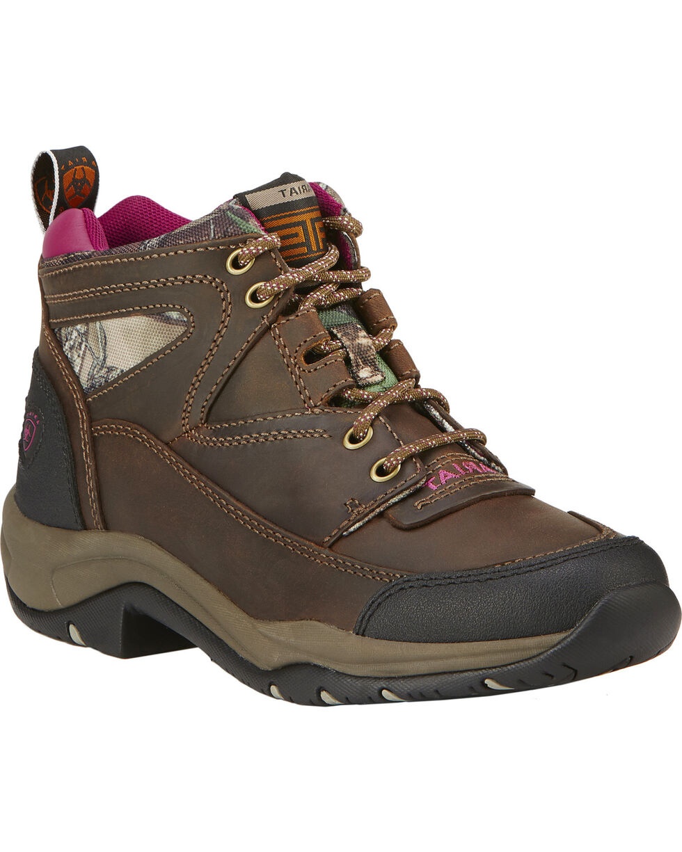 Ariat Terrain Women's Work Boots, Brown, hi-res