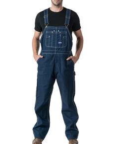 Walls Men's Big Smith Rigid Denim Bib Overalls , Indigo, hi-res
