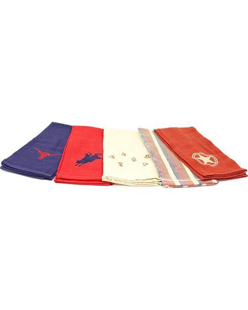 Branded Hand Towel Set, Multi, hi-res