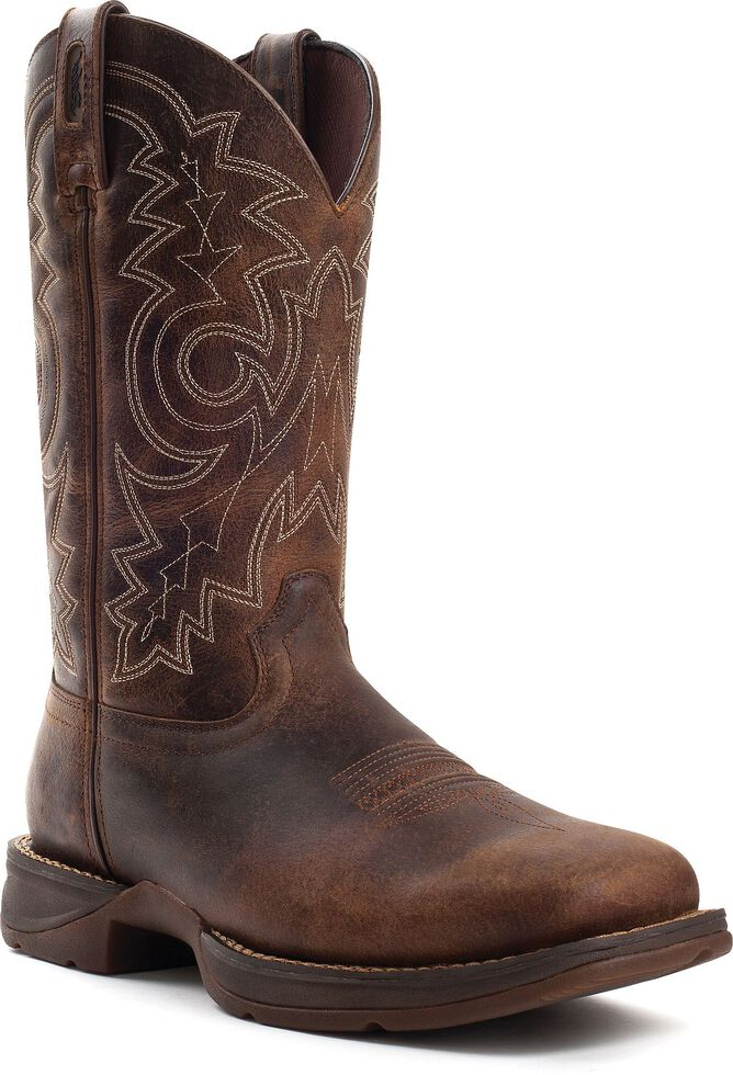 19a934269b6 Durango Rebel Men's Pull-On Western Work Boots - Steel Toe