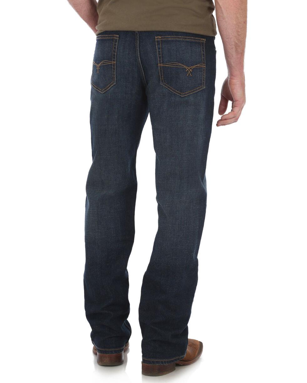 Wrangler 20X Men's No. 33 Relaxed Fit Boot Cut Jeans , Blue, hi-res