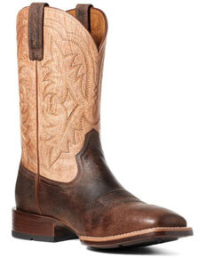 Ariat Men's Ryden Western Boots - Square Toe, Brown, hi-res