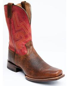 Cody James Men's Weldon Western Boots - Narrow Square Toe, Natural, hi-res
