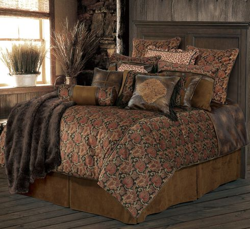 HiEnd Accents Austin Bed Set - King Size, Multi, hi-res