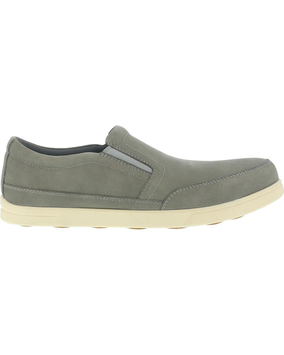 Florsheim Men's Slip-On Stoss Work Shoes - Steel Toe , Taupe, hi-res