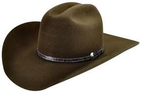 Bailey Men's Roderick 3X Premium Wool Felt Cowboy Hat, Brown, hi-res