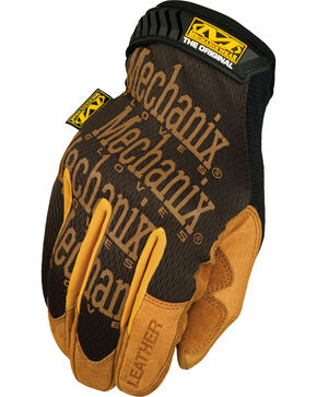 Mechanix Wear Leather Original Work Gloves , Multi, hi-res