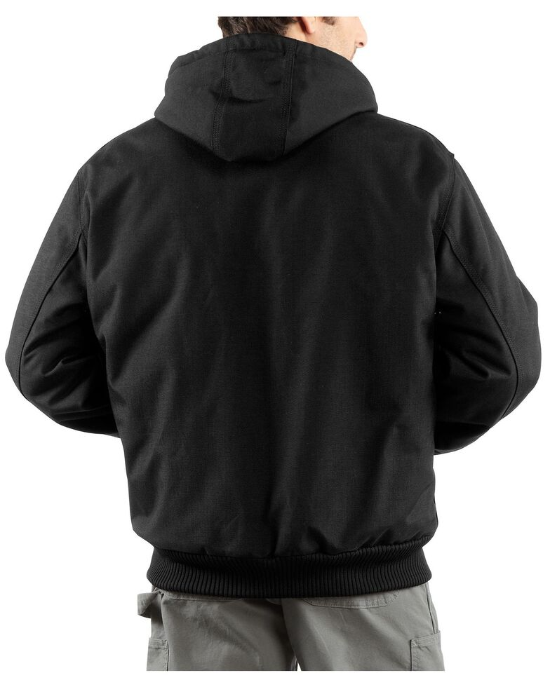 Carhartt Extremes® Men's Quilt-Lined Sandstone Active Work Jacket - Big & Tall, Black, hi-res