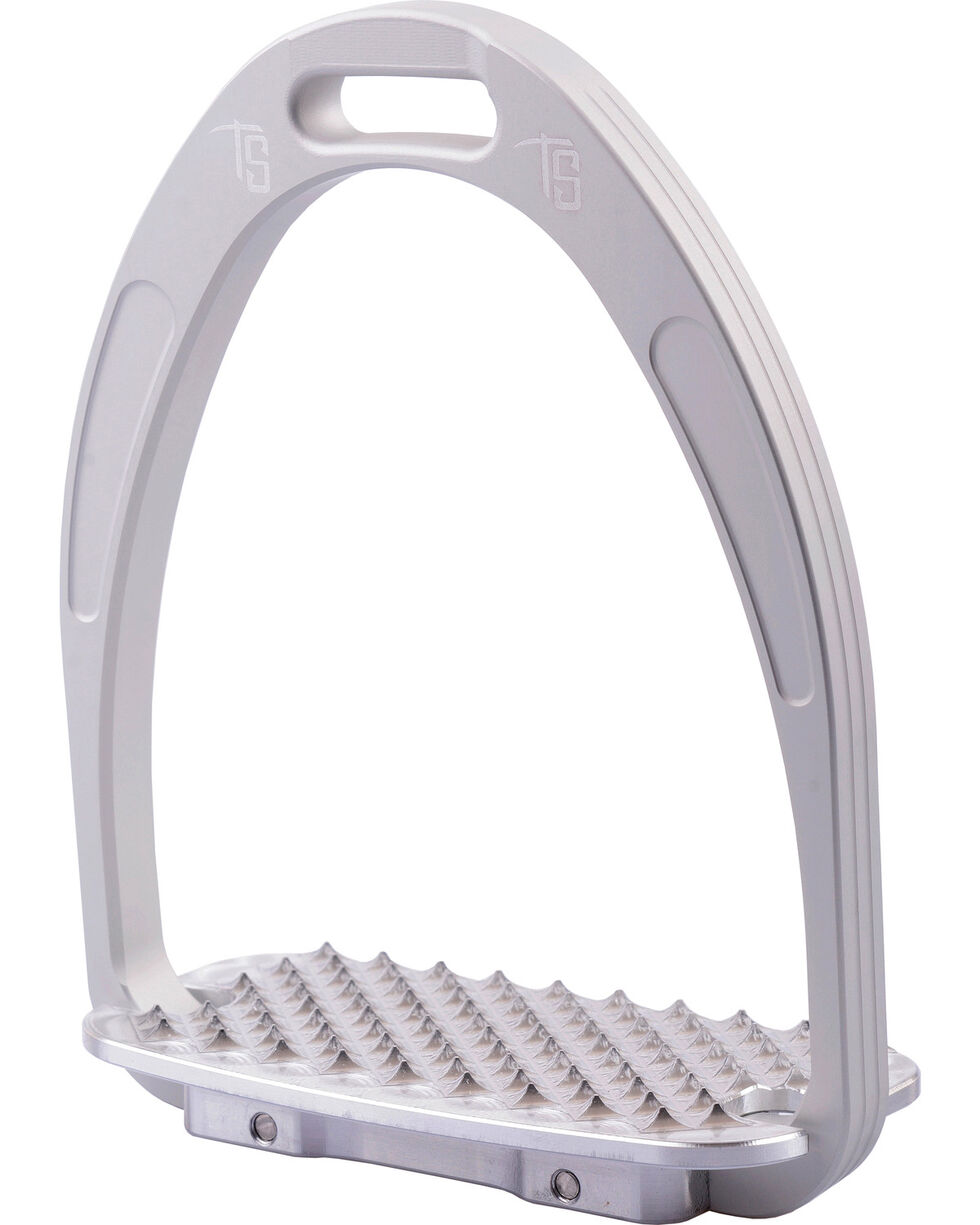 Tech Stirrups Silver Athena Jumper Irons , Silver, hi-res